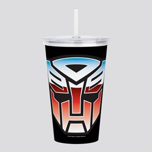 Transformers Autobot S Acrylic Double-wall Tumbler