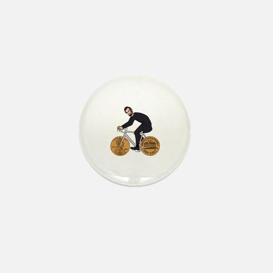 Unique Abe lincoln Mini Button