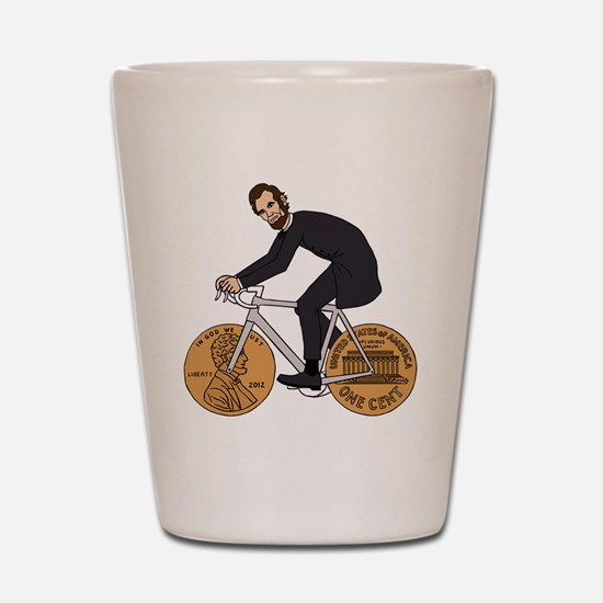 Funny Abraham lincoln Shot Glass