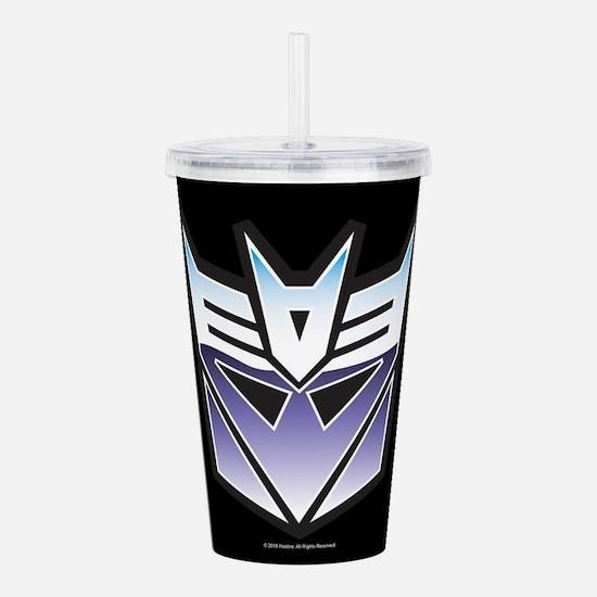 Transformers Deceptico Acrylic Double-wall Tumbler