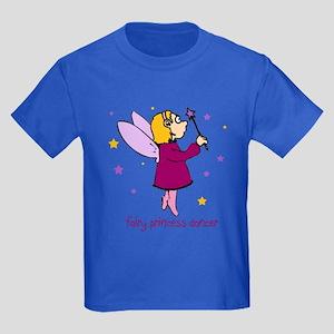 Fairy Princess Dancer Kids Dark T-Shirt