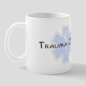 Trauma Junkie with a Star of Mug