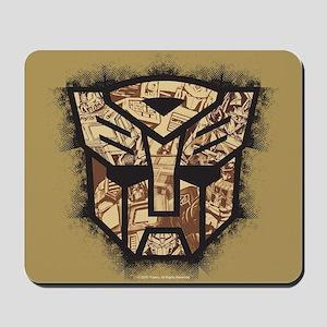 Transformers Autobot Vintage Symbol Mousepad