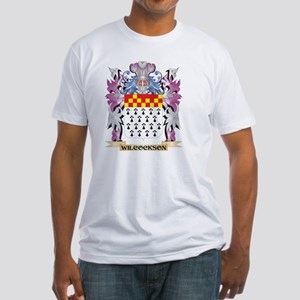 Wilcockson Coat of Arms - Family Crest T-Shirt