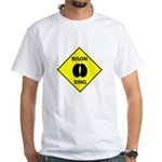 Bison Crossing White T-Shirt