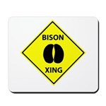 Bison Crossing Mousepad