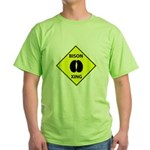 Bison Crossing Green T-Shirt