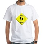Buck Crossing White T-Shirt