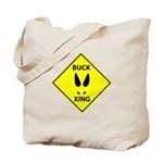 Buck Crossing Tote Bag