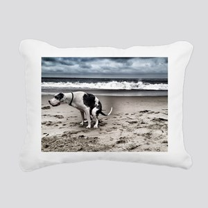 Pooping Pooches Great Da Rectangular Canvas Pillow