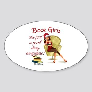 Book Girls Sticker