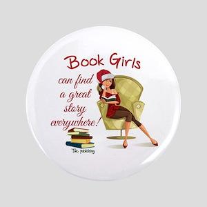 Book Girls Button