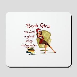 Book Girls Mousepad