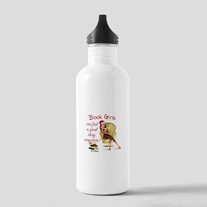 Book Girls Water Bottle