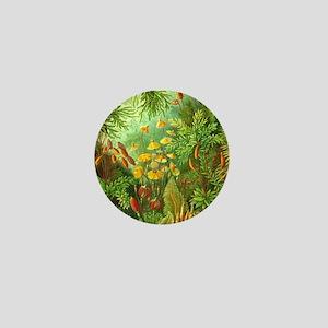 Vintage Plants Decorative Nature Mini Button