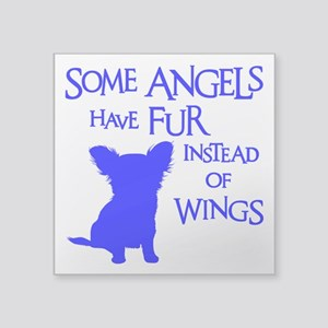 "ANGEL DOG Square Sticker 3"" x 3"""