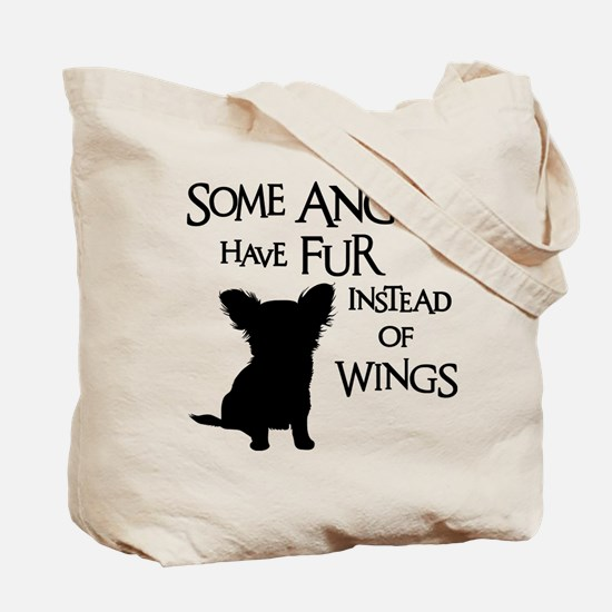 ANGEL DOG (both sides) Tote Bag