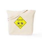 Badger Crossing Tote Bag
