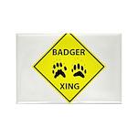 Badger Crossing Rectangle Magnet (10 pack)