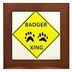 Badger Crossing Framed Tile