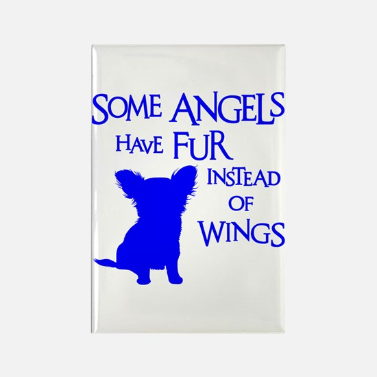 ANGEL DOG Rectangle Magnet