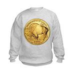 Gold Buffalo Kids Sweatshirt