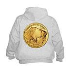 Gold Buffalo Kids Hoodie