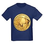 Gold Buffalo Kids Dark T-Shirt