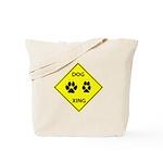 Dog Crossing Tote Bag