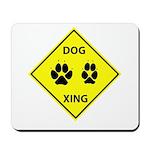 Dog Crossing Mousepad