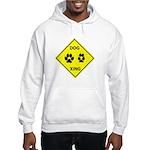 Dog Crossing Hooded Sweatshirt