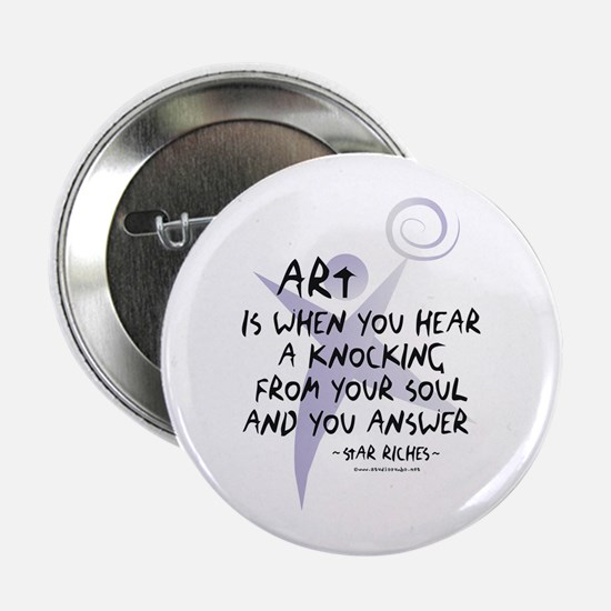 "Art and Soul 2.25"" Button"