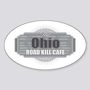 Ohio Road Kill Cafe Sticker