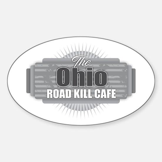Ohio Road Kill Cafe Decal