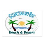 Guantanamo bay Postcards (Package of 8)