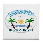Guantanamo bay Tile Coaster