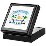 Guantanamo bay Keepsake Box