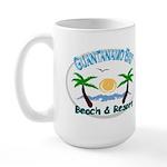 Guantanamo bay Large Mug