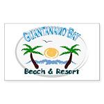 Guantanamo bay Rectangle Sticker