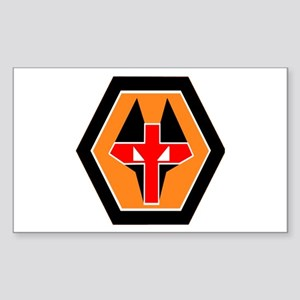 WOLVES Rectangle Sticker