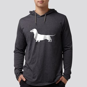 Dachshund Silhoue Long Sleeve T-Shirt
