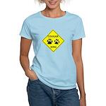 Cougar Mountain Lion Crossing Women's Light T-Shir