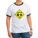 Cougar Mountain Lion Crossing Ringer T