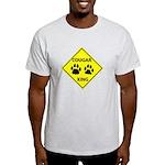 Cougar Mountain Lion Crossing Light T-Shirt