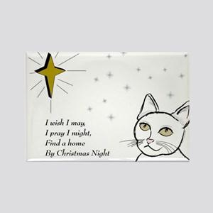 Home for Christmas Rectangle Magnet