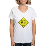 Beaver Crossing Women's V-Neck T-Shirt