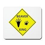 Beaver Crossing Mousepad