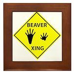 Beaver Crossing Framed Tile