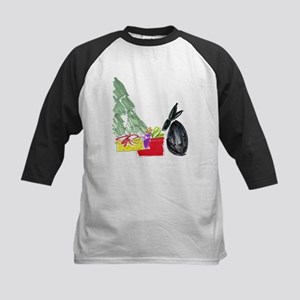 Christmas006 Kids Baseball Jersey