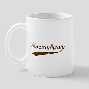 Vintage Mozambique Retro Mug